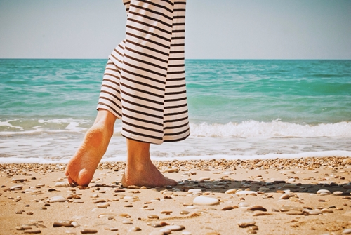 Be especially careful about plantar fasciitis this summer.